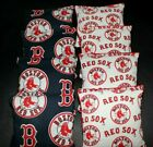 BOSTON RED SOX Cornhole Bean Bags ACA Regulation Corn Toss Vintage MLB Print!! on Ebay
