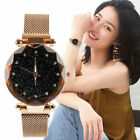 Starry Sky Watch Waterproof Magnet Stainless Steel Strap Free Buckle Women Gift image