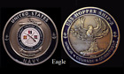~ USS Hopper ~ Ship 3 ~ US Navy Recruit Training Command Challenge Coin ~