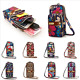 Multi-color Small Cross Body Purse for Women Girls Key Cell Phone Shoulder Bag photo