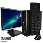 "HP Desktop Computer QUAD CORE i7 WINDOWS 10 Pro PC 16GB 2TB HD 512GB SSD 22"" LCD"