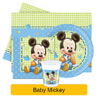 Disney BABY MICKEY Mouse Birthday Party Range - Tableware Decorations Supplies
