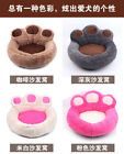 Внешний вид - Cute Paw Shape Pet Dog Cat  Puppy Bed Soft Fleece Doghouse Kennel Mat Cushion 34