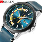 CURREN 8307 Quartz Men Watches Auto Date Week Calendar Wristwatches image