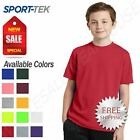 Kyпить Sport-Tek Youth Dri-Fit RacerMesh Workout Short Sleeve T-Shirt M-YST340 на еВаy.соm