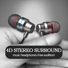 Universal In-ear Remote Control Headphones With Bass -proof  Earphone