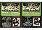 1974 Oakland Athletics World Series Champions Photo Card Plaque on Ebay