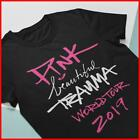 Pink Beautiful Trauma T-Shirt World Tour 2019 T Shirt Unisex Pop Icon Concert image