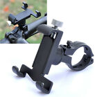 Black Bike Bicycle Motorcycle Handlebar Cell Phone Bracket Aluminum Mount Holder