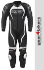 RST Tractech Evo 2 1415 One Piece WHITE Motorcycle Leather Suit Track Race 1