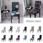 UK Stretch Spandex Chair Cover Slipcover Dining Room Wedding Banquet Party Decor