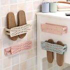 Home Foldable Wall Mounted Shoes Storage Rack Bathroom Hanging Shoes Organizer