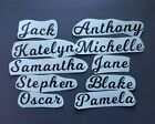 X10 Vinyl Stickers Personalised Name/word Decals For Wine Glass Champagne Flute
