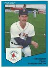1989 ProCards Pawtucket Red Sox Minor League Baseball card - Pick your player