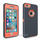 For iPhone 6S Plus Case Heavy Duty Hybrid Shockproof Hard Rubber iPhone 6 Cover