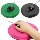 Gel Circular Wrist Rest Support Game Mouse Pad Mice Mat Computer Pc Laptop Pad