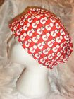 Carole's Surgical Hats Hand made Cotton Hats,  (mens tie) (ladies elasitic)