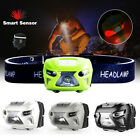 Outdoor Waterproof LED Headlamp USB Rechargeable Bright Headlight Running Lights