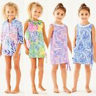 NEW!Lilly Pulitzer GIRLS SHIFT DRESS MINI NATALIE COVER UP FOR KIDS