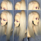360 Lace Frontal Wig Peruvian Human Hair Blonde Full Wigs Body Wave Baby Hair sw