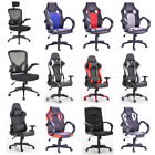 'Racing Chair Sport Swivel Pu Leather Mesh Gaming Desk Executive Office Chairs