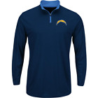 San Diego Chargers NFL Quarter-Zip Shirt Men's size Large or X-Large NWT $39.99 USD on eBay