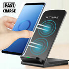 Qi Wireless Fast Charger Charging Pad Stand Dock For Samsung S10+ iPhone XS Max