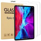 2 Pack Tempered Glass Screen Protector for Apple iPad/Amazon/Samsung/ Lenovo Tab