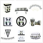 NEW Panda Theme Favor Kids Birthday Party Supplies Decorations Tableware Cup