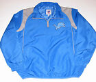 Detroit Lions 1/4 Zip Jacket, Men's Size Large New w/Tag $39.99 USD on eBay