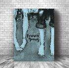 Forever Young - Rod Stewart - Song Lyric Art - Canvas or Plaque Wall Decor