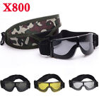 Army USMC X800 Safety Shooting Goggles Tactical 3 Lens UV400 Sport SunglassesShooting & Safety Glasses - 151549