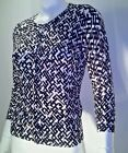 NWT WHITE HOUSE BLACK MARKET PRINTED CARDIGAN SWEATER SIZE S, M, XL