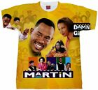 Martin Lawrence T-shirt. Adult and Youth Sizes. Damn Gina Shirt. 90's Shirts. Hi image