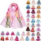 HOT Pashmina Floral Cashmere Wrap Long Scarf Women neck Summer Beach Shawl Dy9