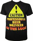 Professional Beer Drinker Novelty Humourous T-Shirt Ideal Fathers Day Gift