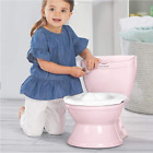 Potty Training Toilet for Toddler Boys & Girls - with Flushing Sounds and Wipe image