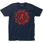 Avengers End Game Icons Fitted Jersey Tee Unisex