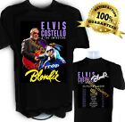 Elvis Costello and Blondie t shirt 2019 Summer Concert Tour New Wave, Punk Music