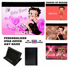 BETTY BOOP FAUX LEATHER IPAD CASE - Choice of Design & Model $22.26 USD on eBay