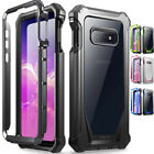 Galaxy S10e Rugged Case, Poetic Full-Body Hybrid Bumper Cover Built-in-Screen