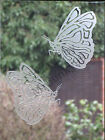 "Etched Glass Sticker. Decal For Patio Door, Windows 5"" High, Butterfly"