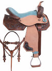 Used Western Barrel Saddle 15 16 Pleasure Trail Show Horse Pro Leather Tack