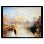 Turner Ancient Rome Agrippina Landing With Ashes Art Print Framed 12x16