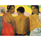 Paul Gauguin Three Tahitians Art Print Framed 12x16