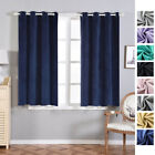 Soft Velvet 52 x 64-Inch Window Drapes Curtains 2 Panels with Grommet Top Home
