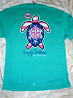 """NWT SIMPLY SOUTHERN """"Love all That you Do """" Turtle  L - XL Starfish Patriotic"""