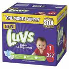 Kyпить Ultra Leakguards Disposable Baby Diapers Newborn Size 1 - 6 and 124 - 252 count на еВаy.соm