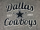 Dallas Cowboys Hooded 100% Soft Cotton/Poly Grey Sweatshirt  NWT  Reg Price $42 on eBay