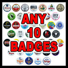 'Beer Badges' for The Sub and Blade by Button Zombie